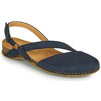 Shoes Women Sandals El Naturalista PANGLAO Blue