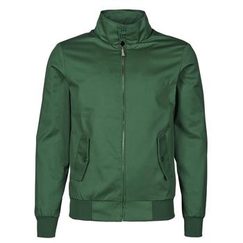 Clothing Men Jackets Harrington HARRINGTON PAULO Green