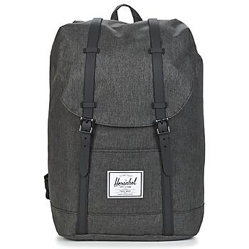 Bags Rucksacks Herschel RETREAT Grey / Dark