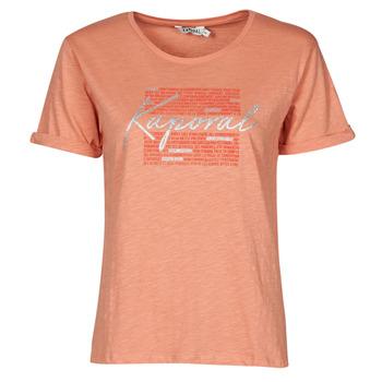 Clothing Women Short-sleeved t-shirts Kaporal PUZZU Pink