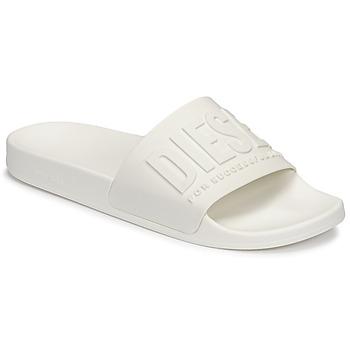 Shoes Men Sliders Diesel CLAIROMNI White
