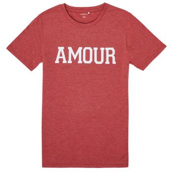 Clothing Girl Short-sleeved t-shirts Name it NKFTHULIPPA Red