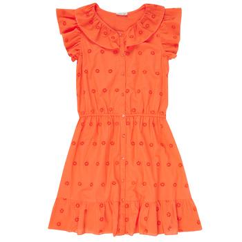 Clothing Girl Short Dresses Name it NKFDORITA Coral