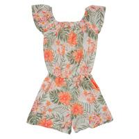 Clothing Girl Jumpsuits / Dungarees Name it NKFVINAYA PLAYSUIT Multicolour