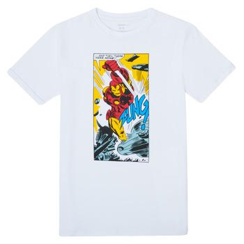 Clothing Boy Short-sleeved t-shirts Name it MARVEL White