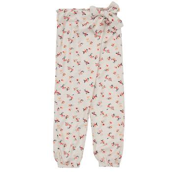 Clothing Girl Wide leg / Harem trousers Name it NMFDELFIN White