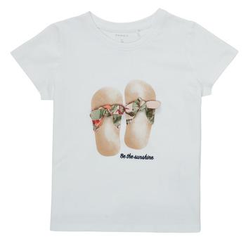 Clothing Girl Short-sleeved t-shirts Name it NMFFISUMMER White