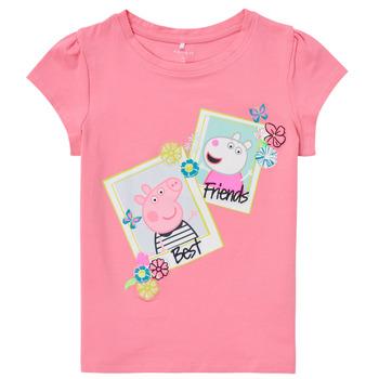 Clothing Girl Short-sleeved t-shirts Name it PEPPAPIG Yellow