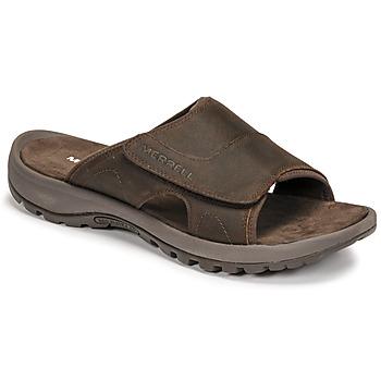 Shoes Men Mules Merrell SANDSPUR II SLIDE Brown