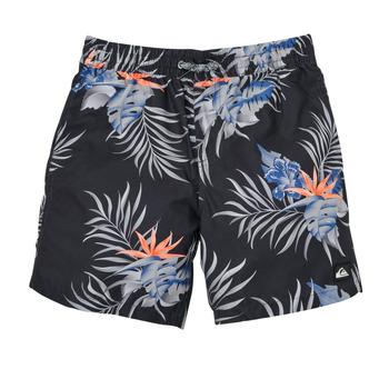 Clothing Boy Trunks / Swim shorts Quiksilver PARADISE EXPRESS 15 Black