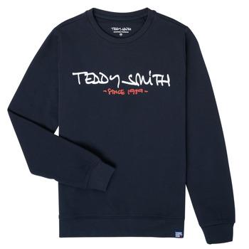 Clothing Boy Sweaters Teddy Smith S-MICKE Marine