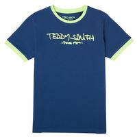 Clothing Boy Short-sleeved t-shirts Teddy Smith TICLASS 3 Marine