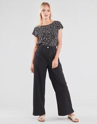 Clothing Women Wide leg / Harem trousers Molly Bracken EF1424P21 Black