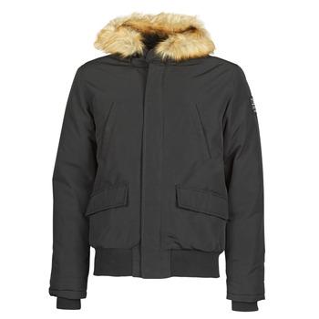 Clothing Men Jackets Schott WASHINGTON2 Black