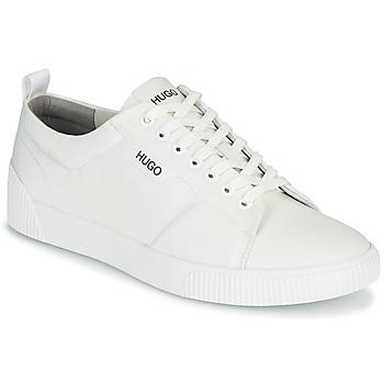 Shoes Men Low top trainers HUGO ZERO TENN NYPU White