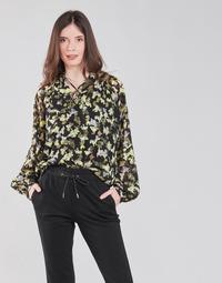 Clothing Women Tops / Blouses S.Oliver 14-1Q1-11-4082-99A1 Black / Multicolour