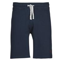 Clothing Men Shorts / Bermudas U.S Polo Assn. TRICOLOR SHORT FLEECE Blue