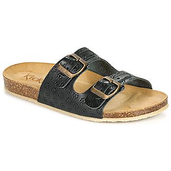 Shoes Women Mules Kickers ECOLOG Black