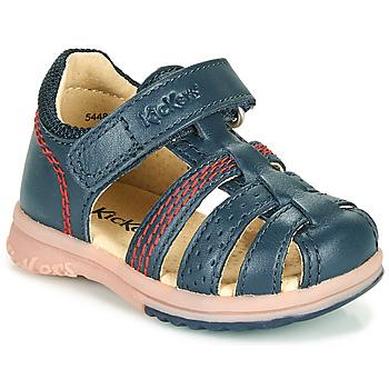 Shoes Boy Sandals Kickers PLATIBACK Marine
