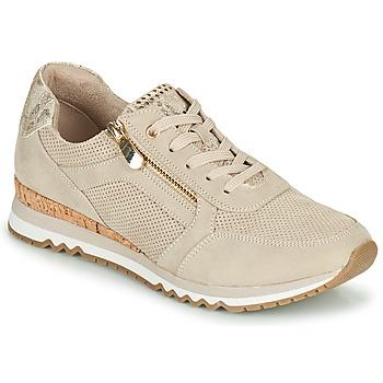 Shoes Women Low top trainers Marco Tozzi DORIANE Beige