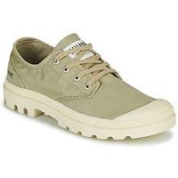 Shoes Low top trainers Palladium PAMPA OX ORGANIC II Green
