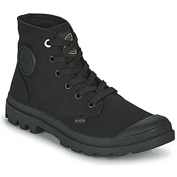 Shoes Mid boots Palladium MONO CHROME Black
