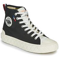 Shoes Hi top trainers Palladium PALLA ACE CVS MID Black / White