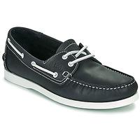 Shoes Men Boat shoes TBS PHENIS Marine / White