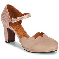 Shoes Women Heels Chie Mihara SELA Pink / Beige