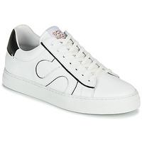 Shoes Men Low top trainers Schmoove SPARK MOVE White / Black