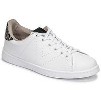 Shoes Women Low top trainers Victoria TENIS VEGANA SERPIENTE White / Black