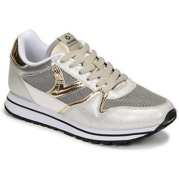 Shoes Women Low top trainers Victoria COMETA REJILLA Plata / Silver