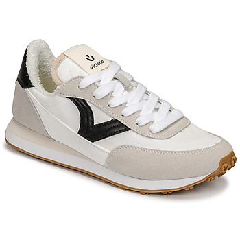 Shoes Women Low top trainers Victoria ASTRO NYLON White / Black