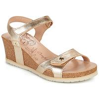 Shoes Women Sandals Panama Jack JULIA SHINE Gold
