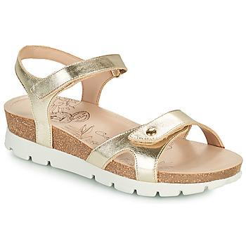 Shoes Women Sandals Panama Jack SULIA SHINE Gold