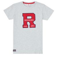 Clothing Boy Short-sleeved t-shirts Redskins TSMC180161-BLENDED-GREY Grey