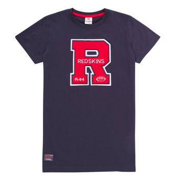 Clothing Boy Short-sleeved t-shirts Redskins TSMC180161-NAVY Marine