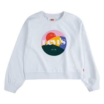 Clothing Girl Sweaters Levi's 3ED410-001 White