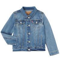 Clothing Girl Denim jackets Levi's 3E4388-M0K Blue