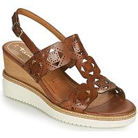 Shoes Women Sandals Tamaris ALIS Cognac