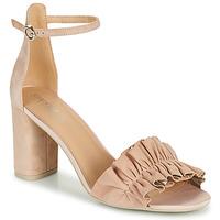 Shoes Women Sandals Geox D ERAKLIA HIGH E Beige