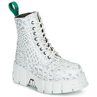 Shoes Mid boots New Rock M-MILI083C-V9 White