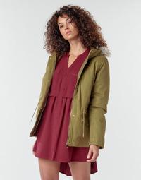 Clothing Women Coats Deeluxe LINA Kaki