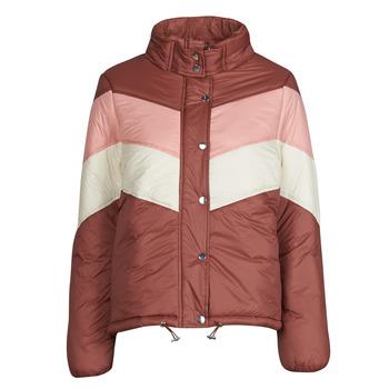 Clothing Women Duffel coats Deeluxe CLAUDINE Red / Pink