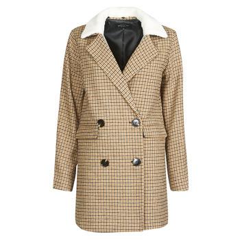 Clothing Women Jackets Deeluxe PAULETTE Beige