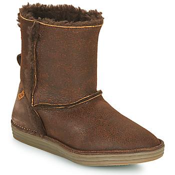 Shoes Women Mid boots El Naturalista LUX Brown