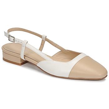 Shoes Women Sandals Jonak DHAPOU Beige / White