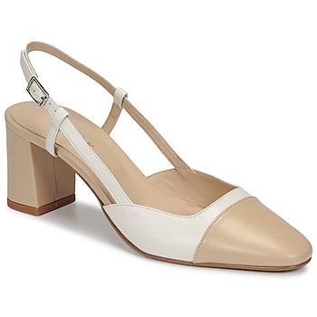 Shoes Women Heels Jonak DHAPOP Beige / White