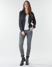 Clothing Women Skinny jeans G-Star Raw 3301 Low Skinny Wmn Dk / Aged / Cobler