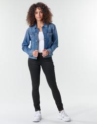 Clothing Women Skinny jeans G-Star Raw Midge Zip Mid Skinny Wmn  black